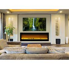 Recessed Electric Fireplace Installing Recessed Electric Fireplace Decorations From The
