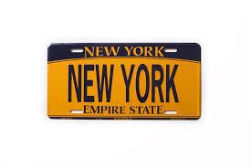 ny vanity plates amazon com new york souvenir license plates new york souvenir