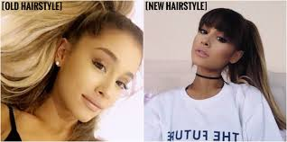 a new hairstyle ariana grande gets a new hairstyle agoodoutfit