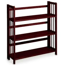 ameriwood wade mahogany mobile ladder bookcase 9660096com the