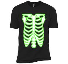Halloween Skeleton Shirt by Halloween Radioactive Skeleton Rib Cage Costume T Shirt U2013 Trend Shirt
