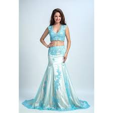 light blue sleeveless dress discount sleeveless dresses two piece light blue evening prom