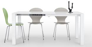 modern extendable dining table set space saving dining table ikea