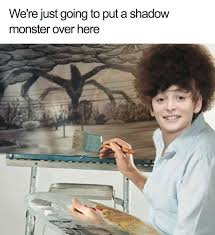 Bob Ross Meme - stranger things meme will as bob ross on bingememe