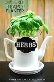how to make a repurposed teapot planter u2022 grillo designs