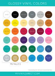 pick 12 pack gloss vinyl sheets oracal 651 my vinyl direct