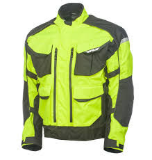 mtb jackets terra trek 4 flo yellow jacket fly racing motocross mtb bmx