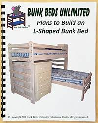 Make L Shaped Bunk Beds Bunk Bed Diy Woodworking Plan To Build Your Own L Shaped