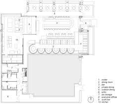 floorplan com cafe r d prototype restaurant by loha floor plan reference