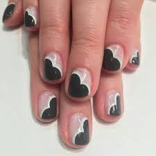 negative space nails art the best tutorial ladylife