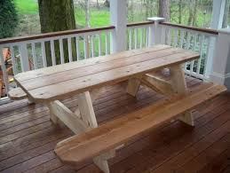 this old house picnic table cedar picnic table by dvhart lumberjocks com woodworking community