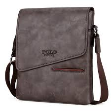 Cover Bag Polo S Black Vintage Messenger Bags Leather Satchel Polo Cover
