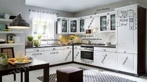 fitted kitchen older white family line european modern complete