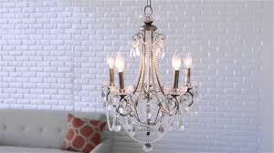 Bellacor Chandelier Minka Lavery 5 Light Mini Chandelier Distressed Silver