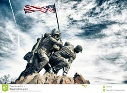 Flag Iwo Jima Monument Clipart Iwo Jima Pencil And In Color Monument Clipart