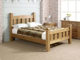 buy happy beds woodstock oak wooden bed frame from our small