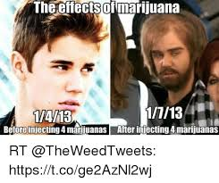 Injecting Marijuanas Meme - the effectsof marijuana beforeinjecting 4 marijuanas after injecting