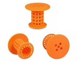 Bathtub Hair Catcher Tubshroom Orange The Hair Catcher That Prevents Clogged Tub Drains