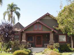 Bungalow Houses Miner Smith Craftsman Bungalow House In Long Beach California I