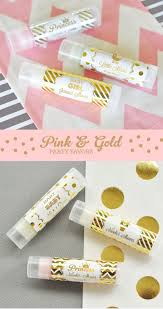 Pink And Gold Baby Shower Decorations by Pink And Gold Party Favors Pink And Gold Baby Shower Ideas