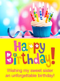 the unforgettable happy birthday cards colorful cupcake birthday card for birthday greeting