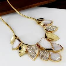 gold plated statement necklace images 54 statement necklaces gold rose gold tone bridal statement jpg
