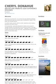 self resume samples visualcv resume samples database