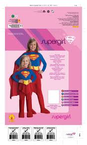 supergirl halloween costumes amazon com supergirl child costume large toys u0026 games
