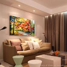 hall painting hand painted modern home decor living room hall wall art picture
