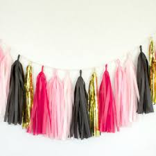black and gold party decorations best hot pink bridal shower decorations products on wanelo
