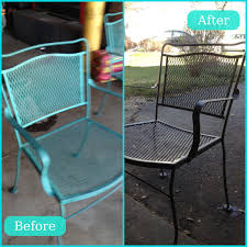 scarp off rust lightly sand and spray paint patio furniture redo just need painted patio furnituremetal