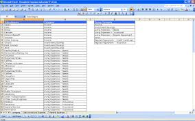 Free Excel Budget Spreadsheet Free Excel Templates Household Expenses Organized Life
