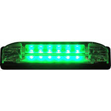 shoreline marine led utility light green walmart
