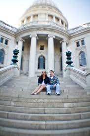 Wedding Photographers Madison Wi Kelley U0026 Nick Madison Wi Engagement Photos Couple Engagement
