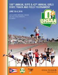 ohsaa track u0026 field information