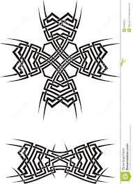 tribal ornaments stock vector image of sharp danger 5866841