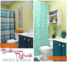 Better Home And Gardens Curtains by Bathroom Refresh With Better Homes And Gardens Jenna Burger