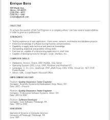 quality assurance resume exles software quality assurance resume quality engineer resume
