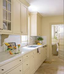 Expanding A Galley Kitchen A Refreshed Traditional Kitchen Old House Restoration Products