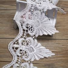 lace ribbon 7 yards 120mm width white lace ribbon diy decorative lace trim