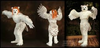 Snowy Owl Halloween Costume by Athene Noctua By Qarrezel On Deviantart
