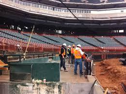 at t park lexus dugout club rangers ballpark construction 1 jpg