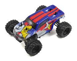 1 24 scale monster jam trucks ruckus 1 24 rtr 4wd micro monster truck by ecx ecx00013t2 cars