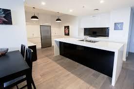 modern timber kitchen ways to achieve the perfect black and white kitchen kitchen