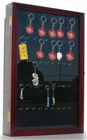 box keychain keychain display wall mounted cabinet shadow box