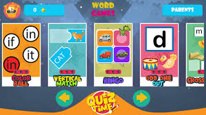 kindergarten kids learning english rhyming words android apps on