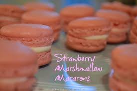 strawberry marshmallow macarons u2013 the foodie family blog