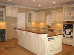 White Distressed Kitchen Cabinets White Kitchen Cabinets With White Appliances White Kitchen
