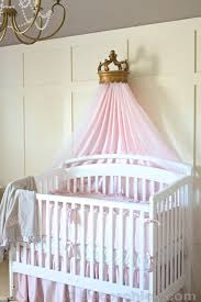 nursery progress baby bedding and bed crown decorchick