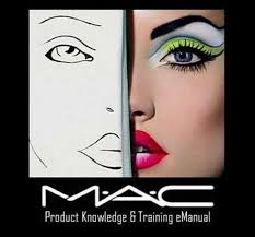 mac knowledge books videos set makeup cosmetics face charts ebay free blank middot printable